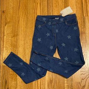 Zara girl jean leggings size 10